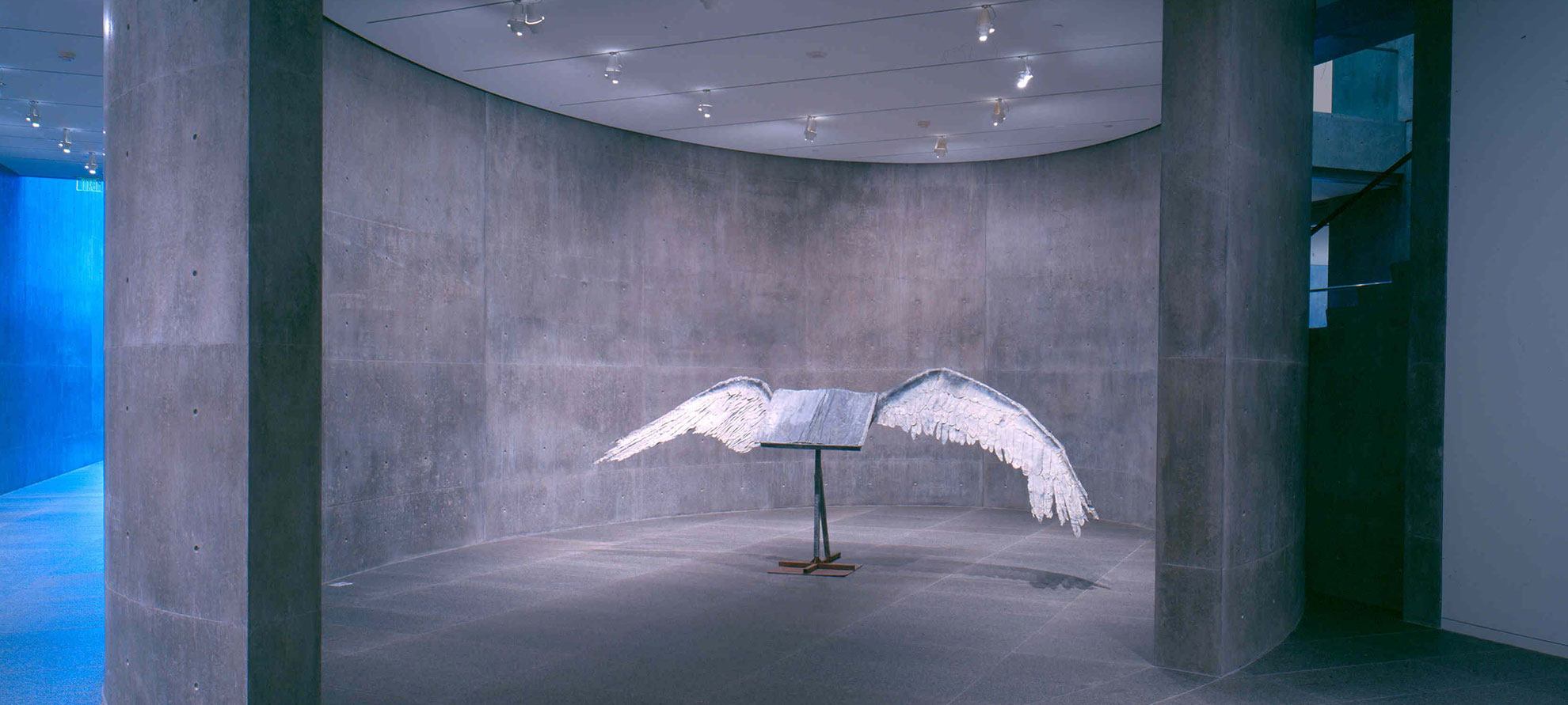 Anselm Keifer,  Buch mit Flügeln (Book with Wings), 1992–94