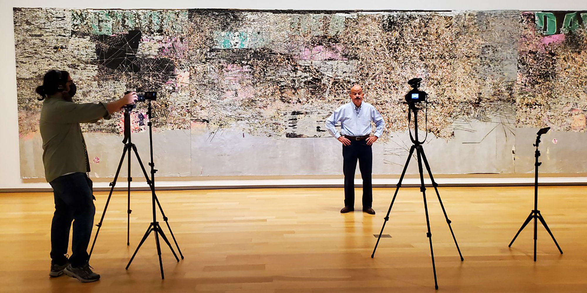 virtual tour recording in galleries