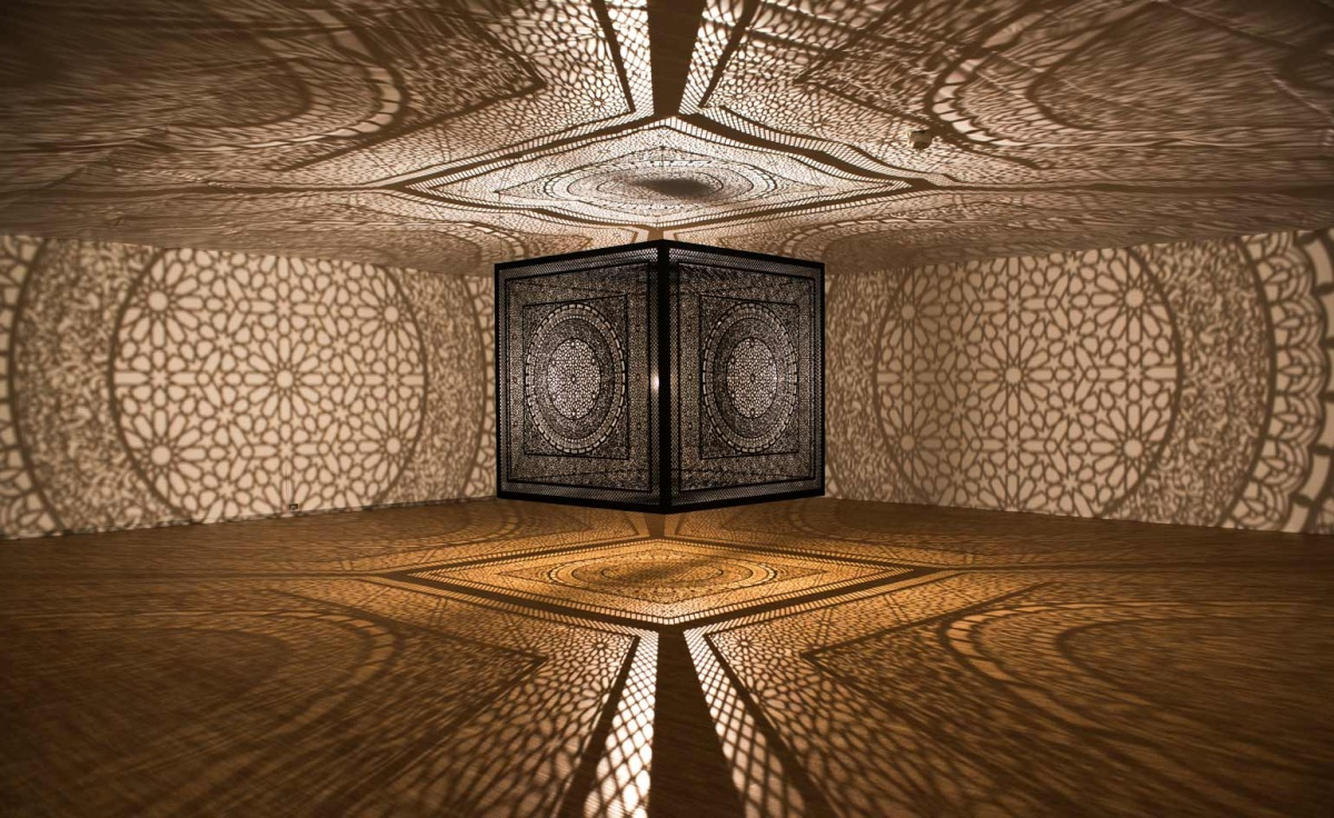 Anila Quayyam Agha: Intersections, April 9-August 23, 2015, Dallas Contemporary