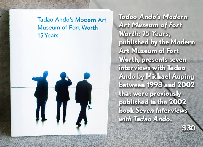 Tadao Ando's Modern Art Museum of Fort Worth 15 Years