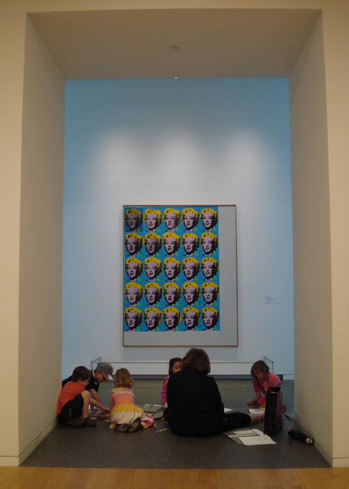 The Modern Art Museum ~ Fort Worth Kids Drawing Program