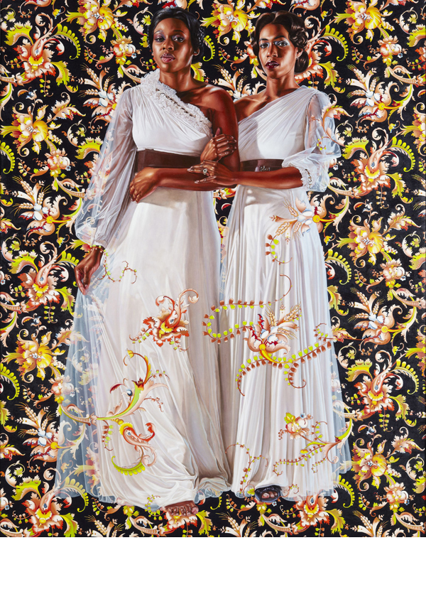 Oil on linen. 96 x 72 inches. Collection of Pamela K. and William A. Royall, Jr. Courtesy of Sean Kelly, New York. ©Kehinde Wiley. Image copyright: Jason Wyche