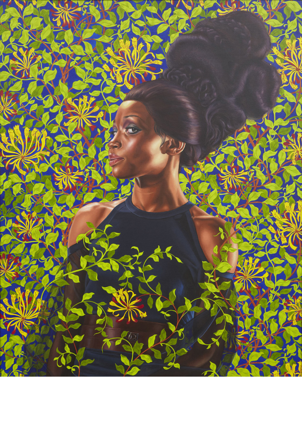 Oil on canvas 60 x 48 inches. Collection of Ana and Lenny Gravier. Courtesy Sean Kelly, New York. © Kehinde Wiley.