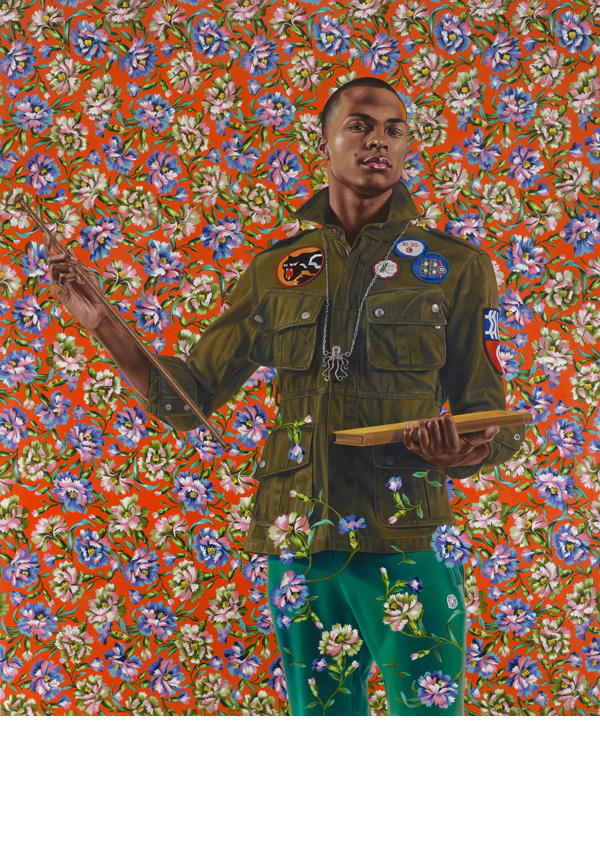 Oil on canvas. 72 x 60 inches. Seattle Art Museum; gift of the Contemporary Collectors Forum, 2013.8. © Kehinde Wiley.  Image copyright: Max Yawney, courtesy of Roberts & Tilton, Culver City, California