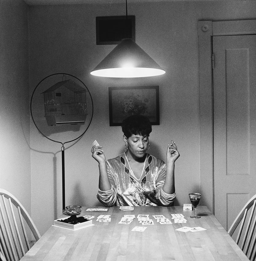 Woman Singing From The Series Kitchen Table